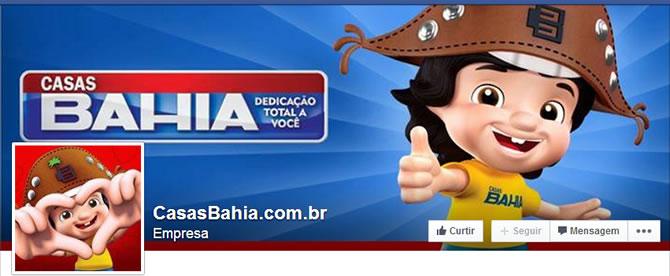 Casas Bahia - Oficial Facebook