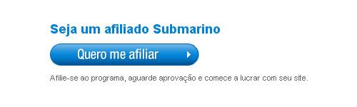 Cadastro no Programa de Afiliados do Submarino