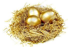 A importância de Espalhar os Ovos de Ouro do seu Blog