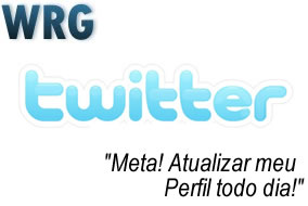 Atualizar o perfil do Twitter todo dia!