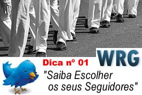 Saiba Escolher os seus seguidores do Twitter