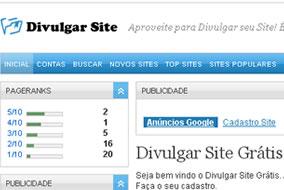 Diretoio de Sites Gratuito - Divulgar Site Gratis