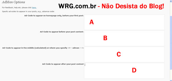 Plugin Adman - Google Adsense Blog - Melhores Plugins WordPress