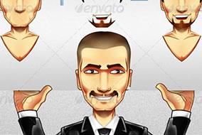 Ilustracao-Homem-de-Negocios-e-Mascote-editavel-em-Photoshop